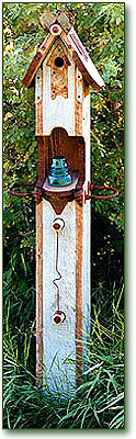 Birdhouse Post by Fowl Places